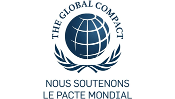 Logo pacte mondial des nations unies